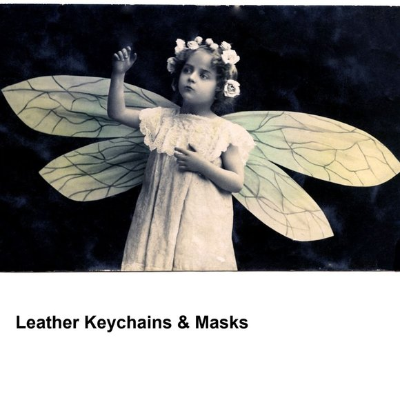 Hand Crafted Other - Leather Masks & Keychains
